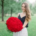 Букет из 101 красной розы (Россия) с доставкой