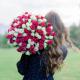 """Букет """"101 белая и розовая роза"""""""