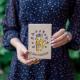 """Деревянная открытка с лисёнком """"С Днем Рождения"""""""