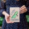 """Деревянная открытка с динозавриком """"С Днем Рождения"""""""
