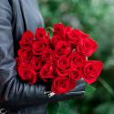 Букет из 19 красных роз купить