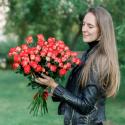 Букет из 15 кустовых роз заказать