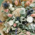 Букет из сухоцветов с эвкалиптом и эрингиумом заказать