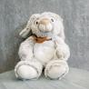 Мягкая игрушка Зайка с коричневым бантиком