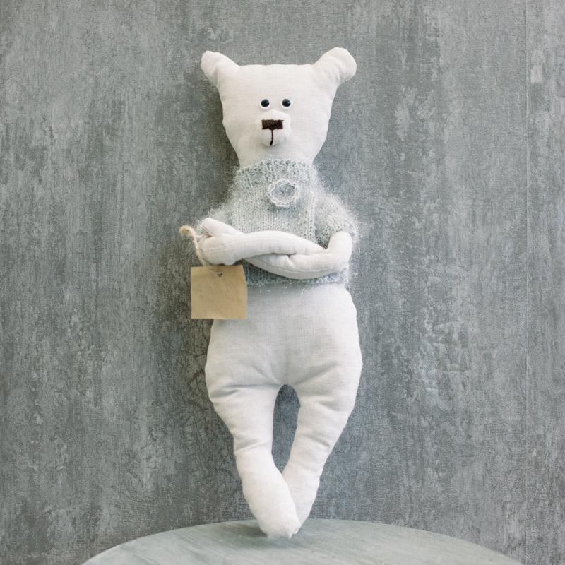 Мягкая игрушка Мишка в свитере с доставкой