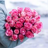 Букет из 25 роз Carousel (Эквадор) заказать