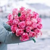 Букет из 25 роз Carousel (Эквадор) купить
