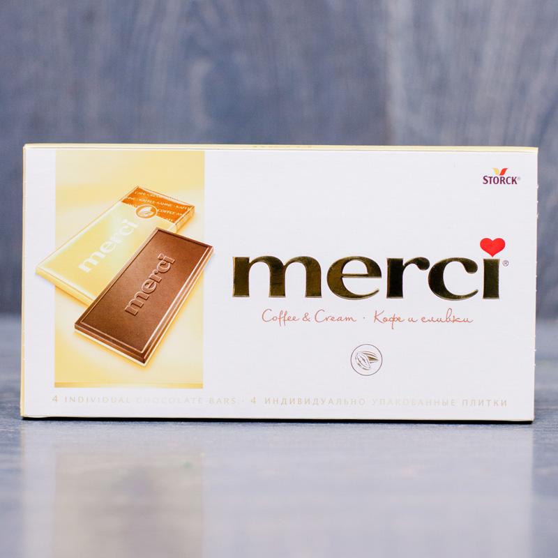 Шоколад Merci с доставкой