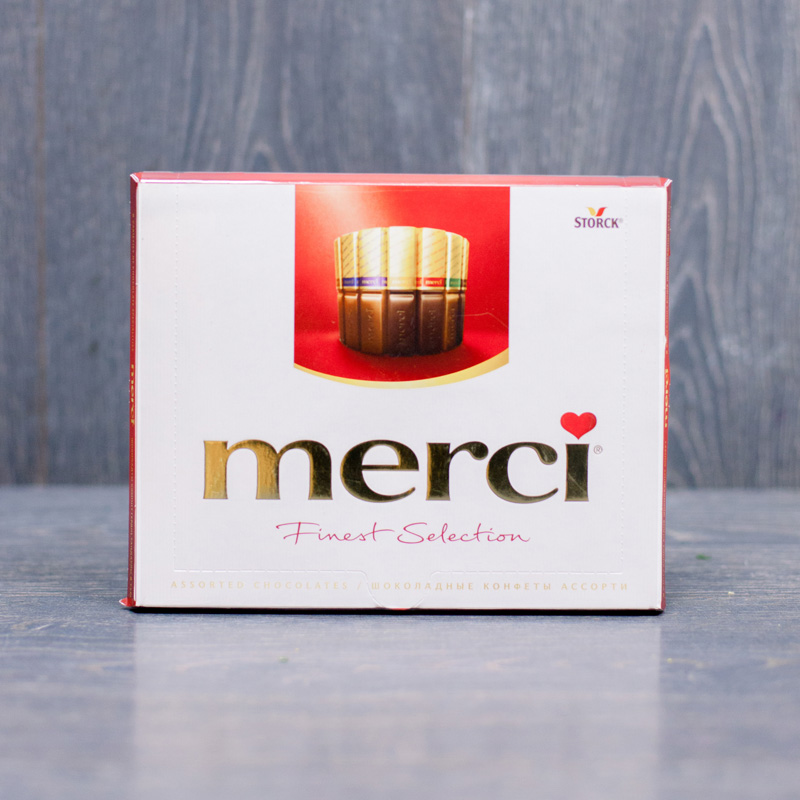 Конфеты Merci с доставкой