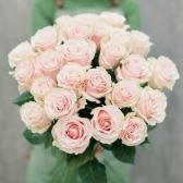 Букет из 25 роз Pink Mondiale (Эквадор) купить