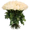 """Букет """"51 белая роза"""" заказать"""