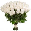 """Букет """"51 белая роза"""" (Эквадор) заказать"""