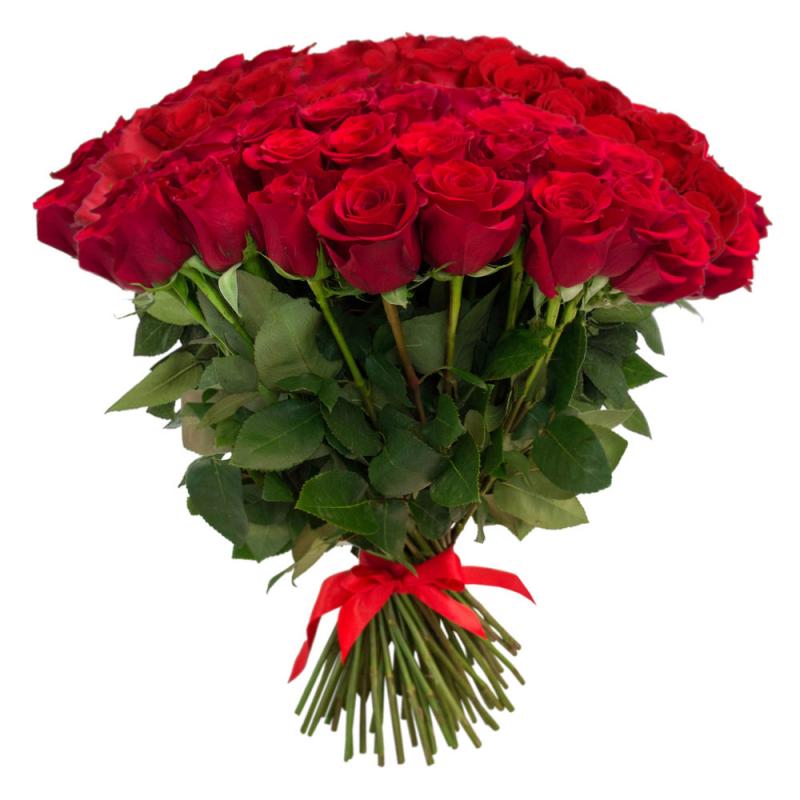 """Букет """"101 красная роза"""" с доставкой"""