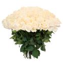 """Букет """"101 белая роза"""" заказать"""