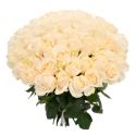 """Букет """"101 белая роза"""" с доставкой"""