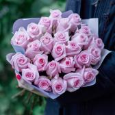 Букет из 25 роз Ангажемент заказать