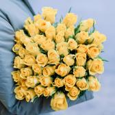 51 желтая Кенийская роза