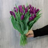 25 жёлтых тюльпанов заказать