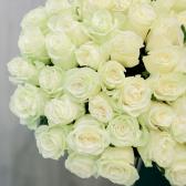 """Букет """"51 белая роза"""" купить"""