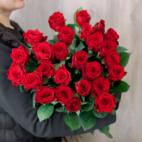 """Букет """"25 красных роз"""" (Россия)"""