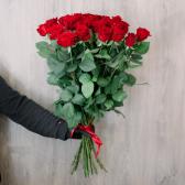 """Букет """"25 красных роз"""" (Россия) купить"""