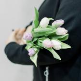 7 тюльпанов (нежный микс) купить