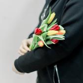 7 тюльпанов (яркий микс) купить