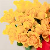 Букет из 15 желтых роз (Кения) заказать
