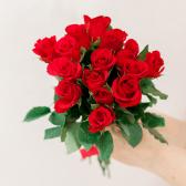 Букет из 15 красных роз (Кения)
