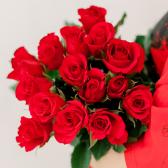 Букет из 15 красных роз (Кения) заказать
