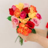 Букет из 15 роз микс (Кения) купить