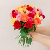 Букет из 35 роз микс (Кения) купить