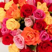 Букет из 35 роз микс (Кения) заказать