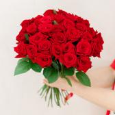 Букет из 35 красных роз (Россия) купить