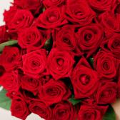 Букет из 35 красных роз (Россия) заказать