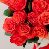 Букет из 15 оранжевых роз (Эквадор) заказать