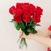 Букет из 15 красных роз (Эквадор) купить