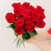 Букет из 15 красных роз (Эквадор)