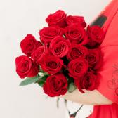 Букет из 15 красных роз (Эквадор) заказать