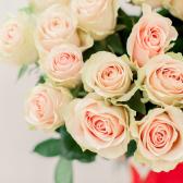 Букет из 15 розовых роз 60 см (Эквадор) заказать