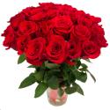 Букет из 31 красной розы Freedom (Эквадор)