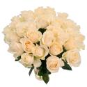 Букет из 31 белой розы Vendela (Эквадор)
