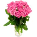 Букет из 19 розовых роз (Россия)