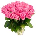 Букет из 31 розовой розы Topaz (Эквадор)