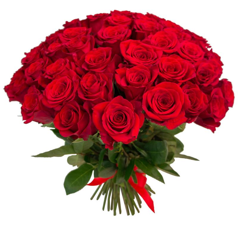"""Букет """"55 красных роз"""" с доставкой"""