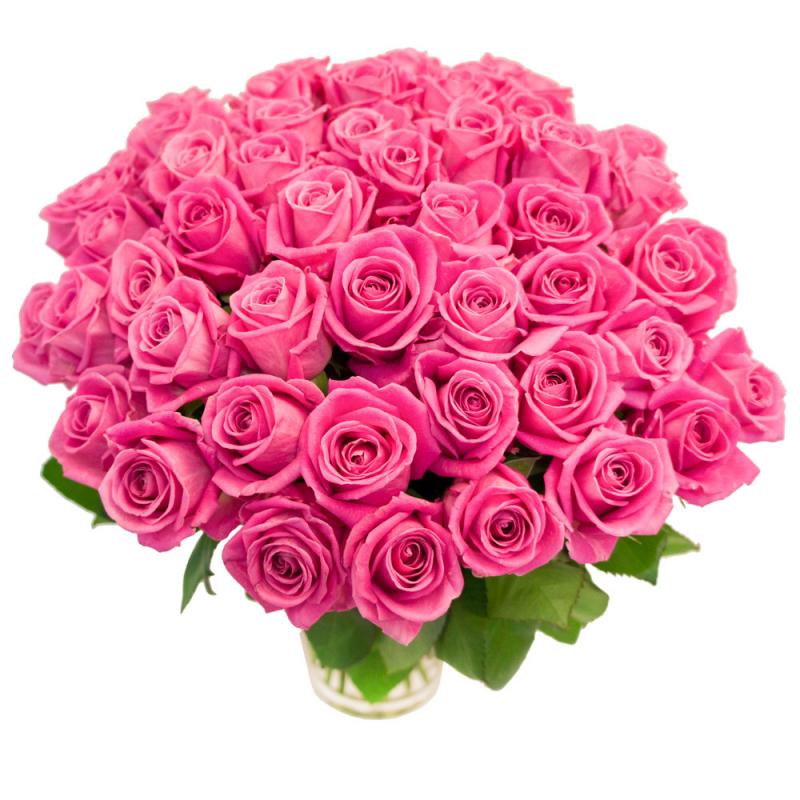 """Букет """"55 розовых роз"""" с доставкой"""