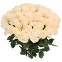 Букет из 55 белых роз Vendela (Эквадор)