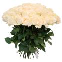 """Букет """"75 белых роз"""" купить"""
