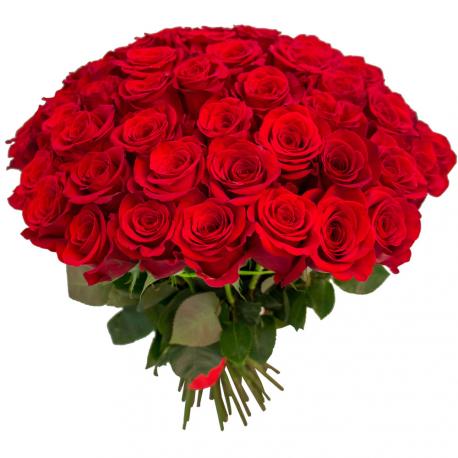 """Букет """"75 красных роз"""""""