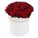 """Букет в шляпной коробке """"31 красная роза"""""""